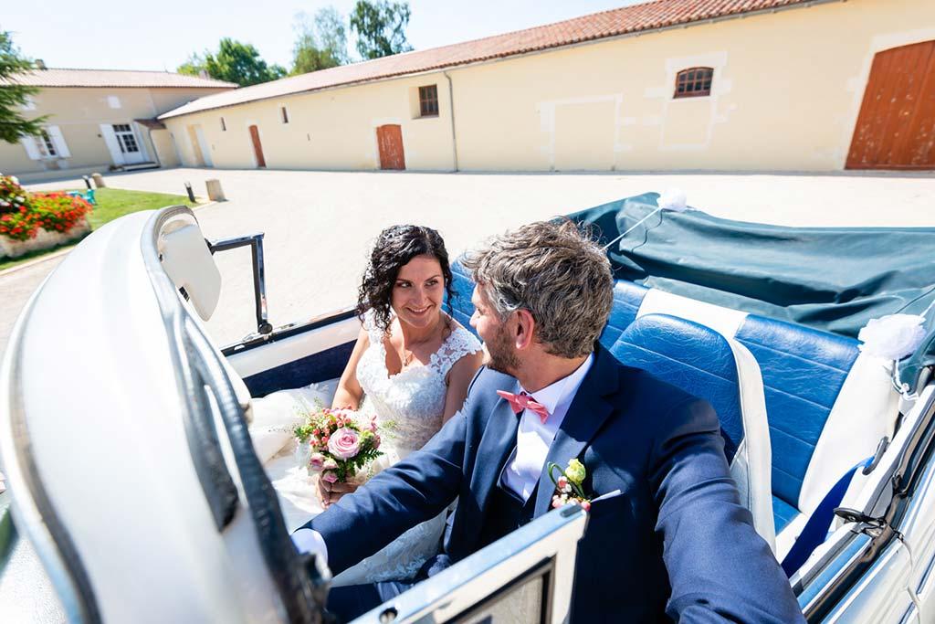 reportage photo mariage à Saujon