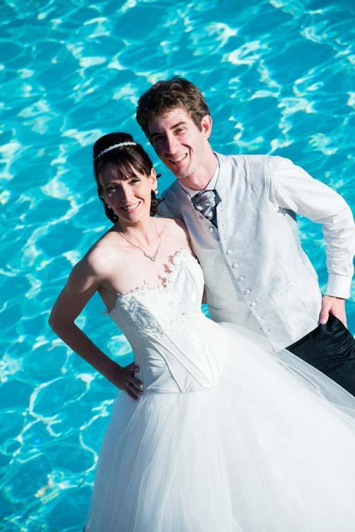 photo de mariage couple