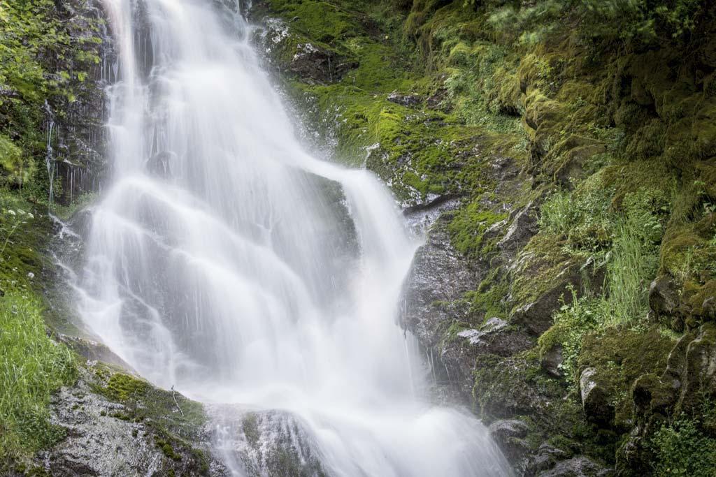 cascade en ariège