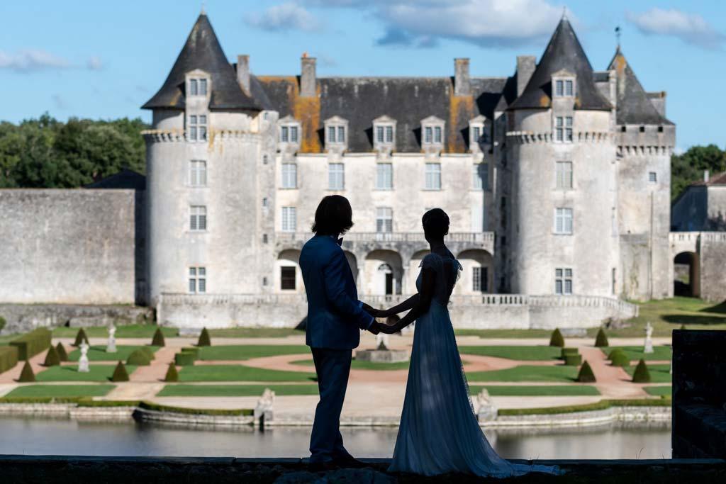 mariageau chateau de la Roche Courbon